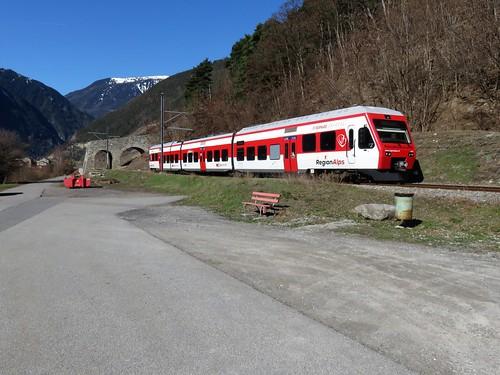 Trains Région Alps (Suisse)