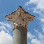 Pillar at Iseum, Szombathely