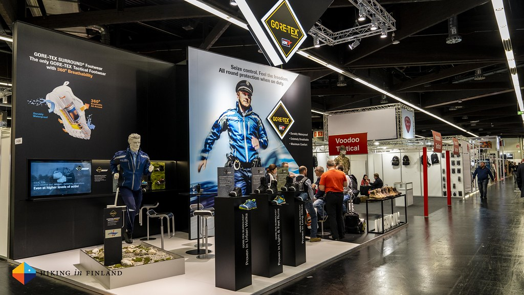 Gore-Tex Booth at the IWA 2019