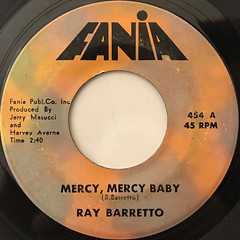 RAY BARRETTO:MERCY MERCY BABY(LABEL SIDE-A)