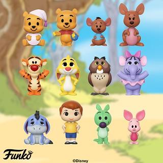快把這些百畝森林裡的可愛小東西帶回家吧~ Funko Mini Vinyl Figures 系列《小熊維尼》Winnie the Pooh
