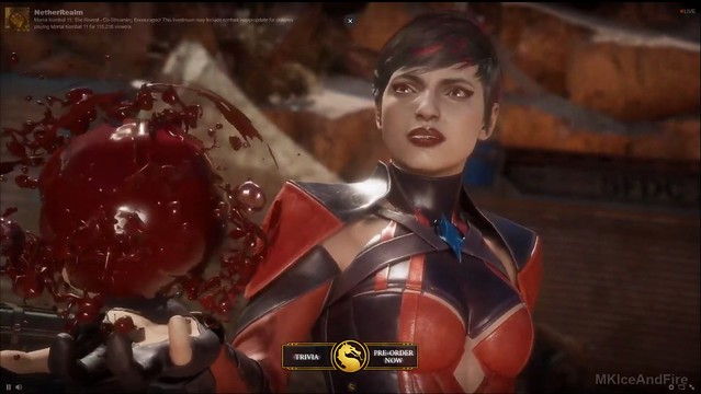 Mortal Kombat 11 - Skarlet Blood Ball