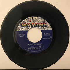 THE JACKSON 5:I WANT YOU BACK(RECORD SIDE-A)