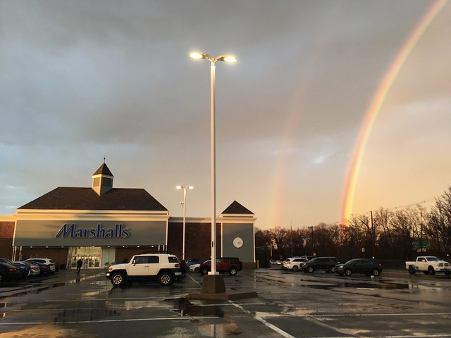 Of all things I didn't think I'd find Marshalls at the end of the rainbow.