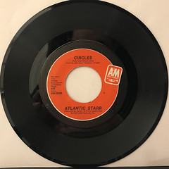 ATLANTIC STARR:CIRCLES(RECORD SIDE-A)