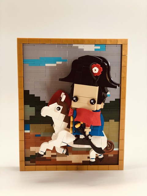 The world famous art collections-「Napoleon Crossing the Alps/拿破崙越過阿爾卑斯山」