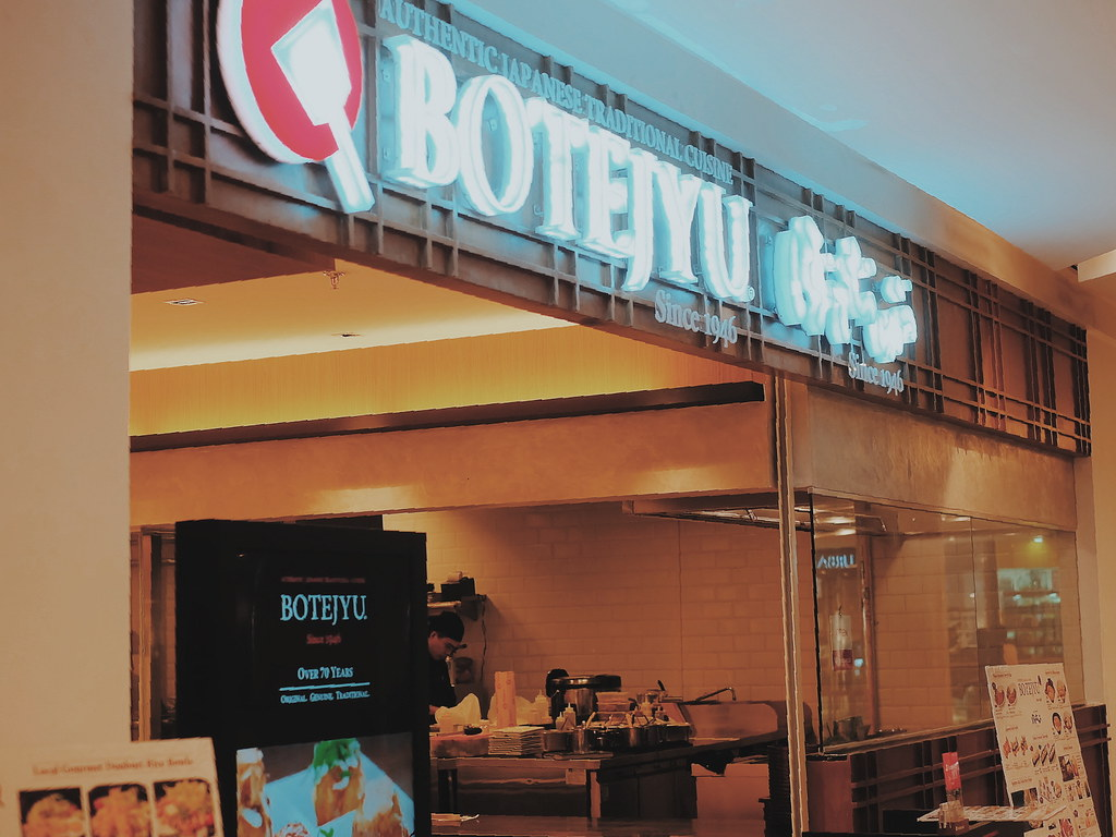 What to Order at Botejyu Japanese Restaurant?