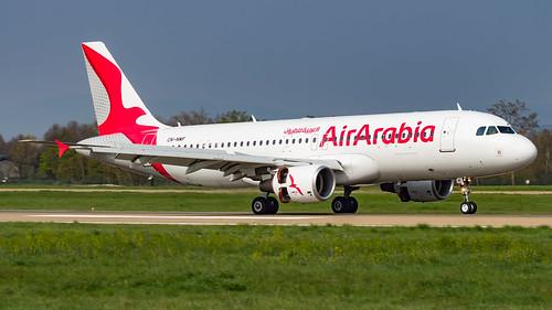 Airbus A320-214 CN-NMF Air Arabia Maroc