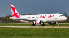 Airbus A320-214 CN-NMF Air Arabia Maroc - Photo of Ichtratzheim