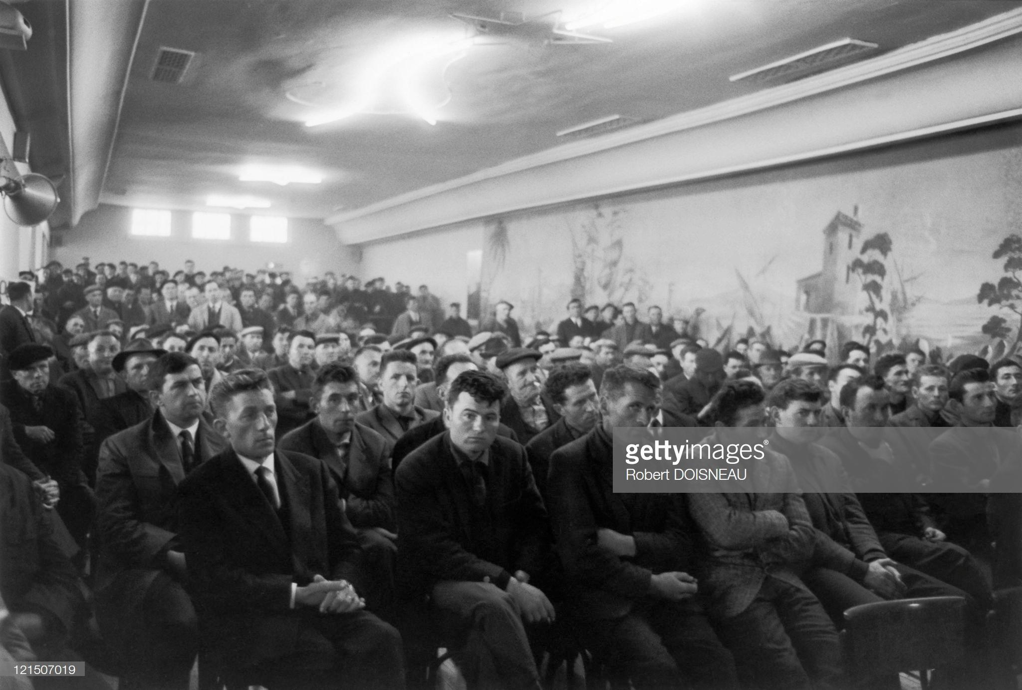 1964: Бретань Собрание профсоюзов
