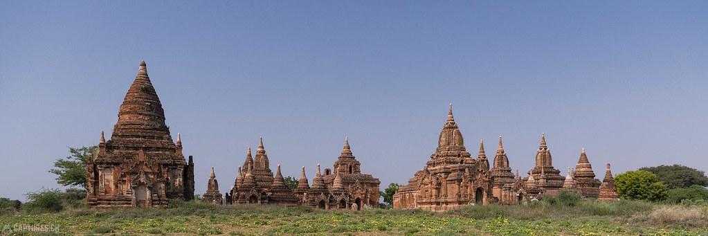 Old Pagodas - Bagan