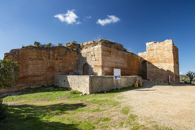 The Castle of Paderne is an ancient fortification located in the civil parish of Paderne, municipality of Albufeira, in the Portuguese Algarve. It was constructed in the later 12th century by Berbers, in an area around 7.5 kilometres inland.