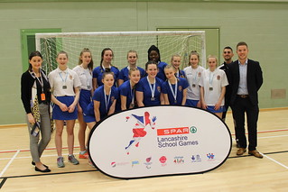 Silver girls-Clitheroe Grammar | by Active Lancashire