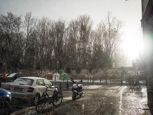 Schneesturm Berlin