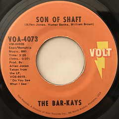 THE BAR-KAYS:SON OF SHAFT(LABEL SIDE-A)