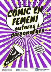 Còmic en femení, autores i personatges