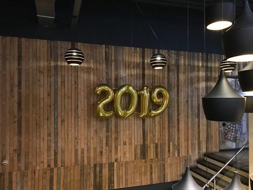 Folieballon Cijfer 2019 Oud en Nieuw Watertuin Spijkenisse