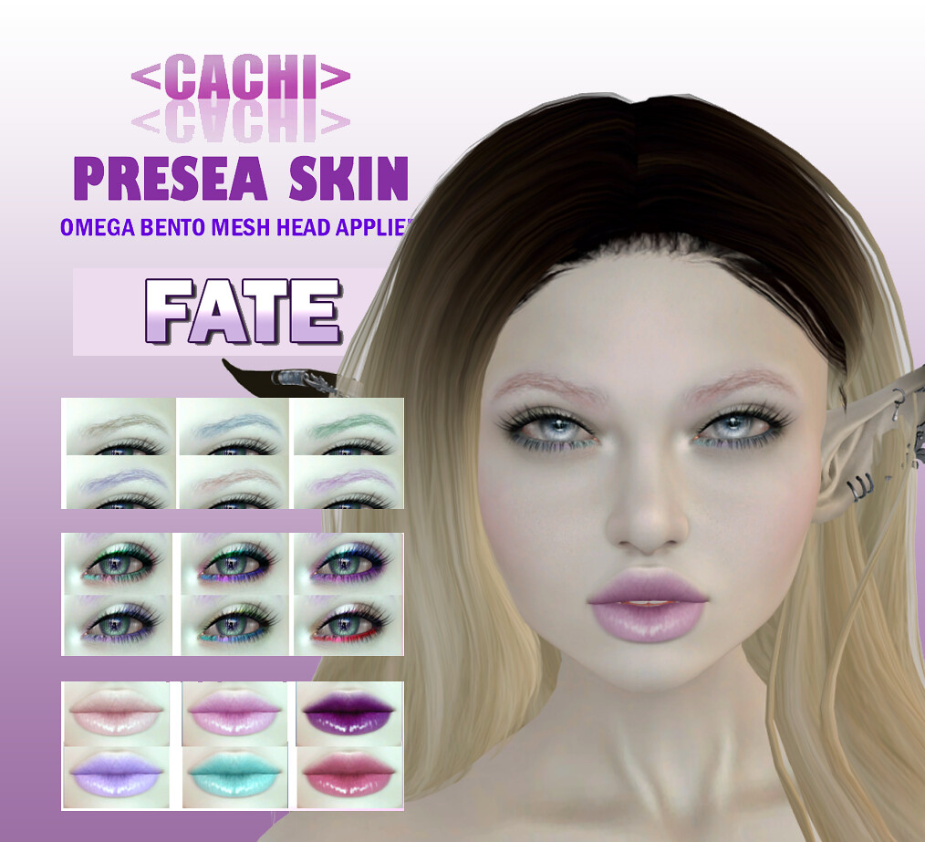 <cachi> Presea Skin Makeup Appliers – FATE