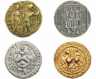 Indian Queens on coins