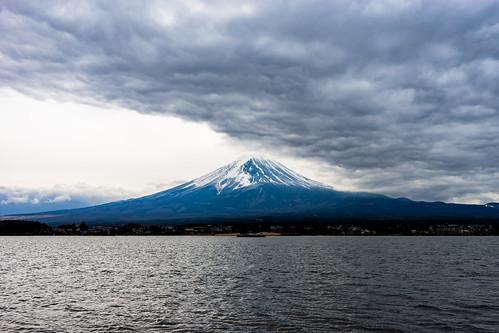 A storm is brewing at Fuji san