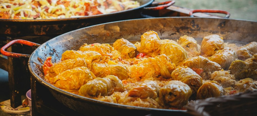 What to Eat in Budapest: Stuffed Cabbage