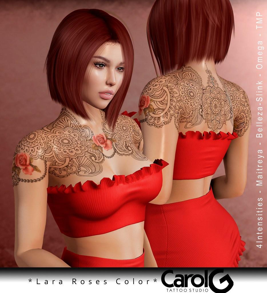 Lara Roses TaTToo [CAROL G]