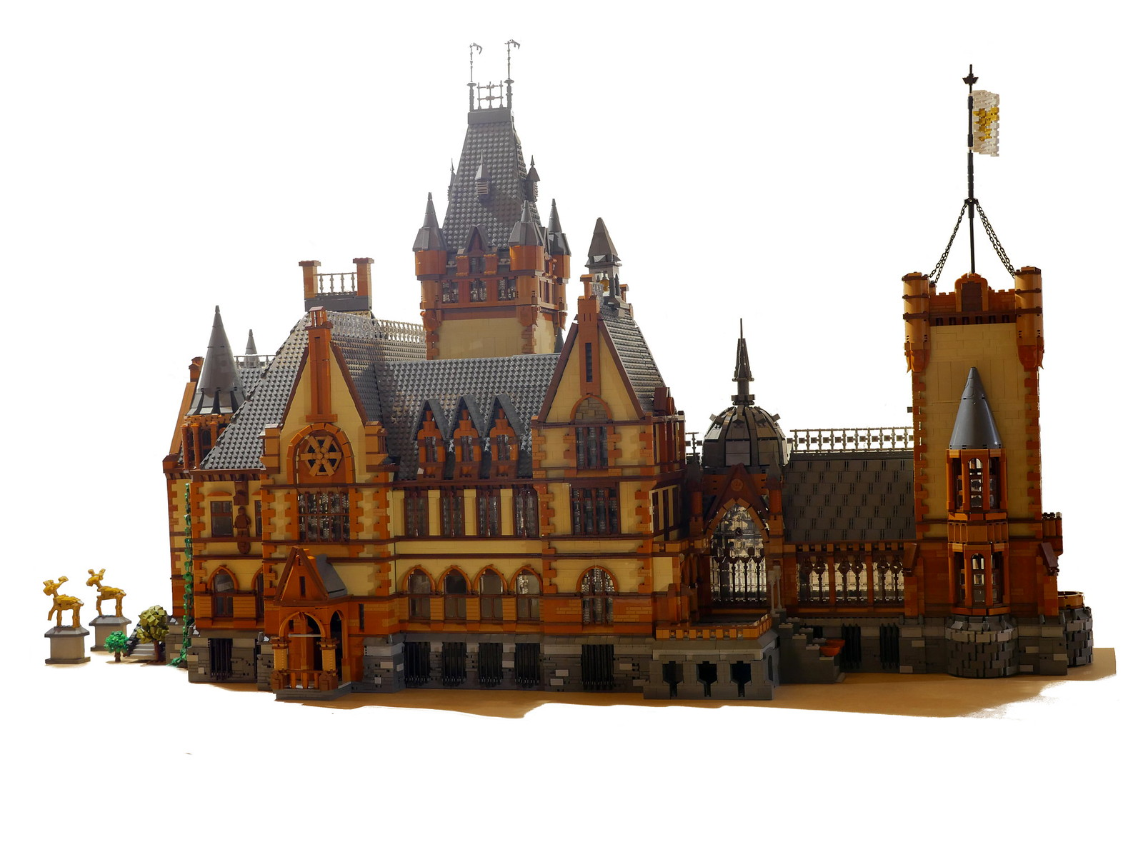 лего германский замок