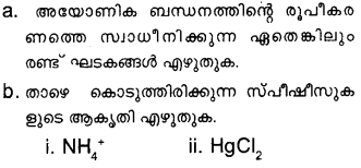 Plus One Chemistry Model Question Papers Paper 3Q27