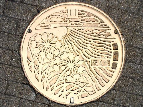 Fukube Tottori, manhole cover (鳥取県福部村のマンホール)