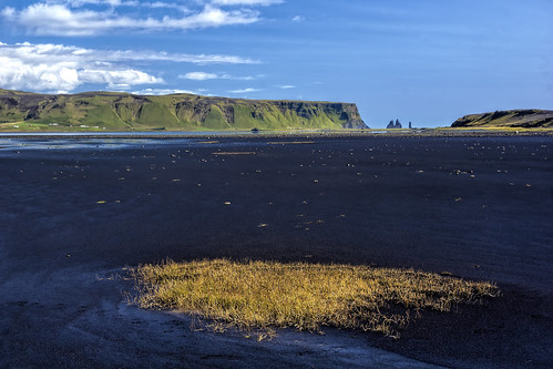Surrealistic Landscape in Iceland