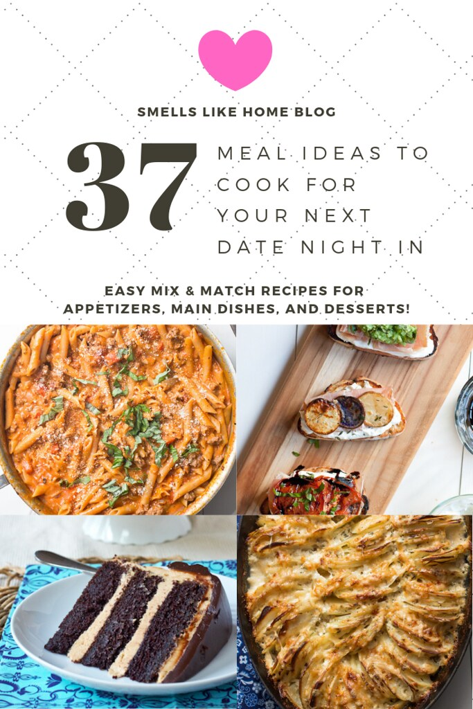 37 Date Night In Meal Ideas