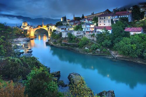 Mostar Evening