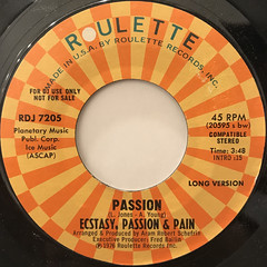 ECSTACY, PASSION & PAIN:PASSION(LABEL SIDE-A)