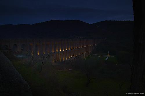 Aqueduct of Vanvitelli near Caserta