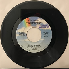 BOBBY BROWN:ROCK WIT' CHA(RECORD SIDE-A)