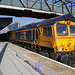 66756 heads south through Doncaster