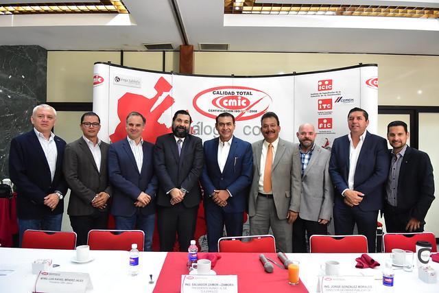 Firma de Convenio Camara Mexicana de la Industria de la Construcción