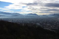 Bastille'den Grenoble Manzarası