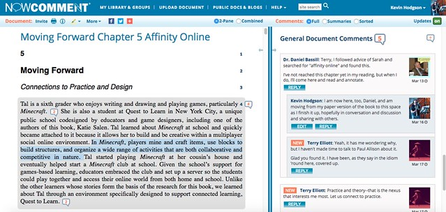 NowComment Affinity Online