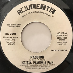 ECSTACY, PASSION & PAIN:PASSION(LABEL SIDE-B)