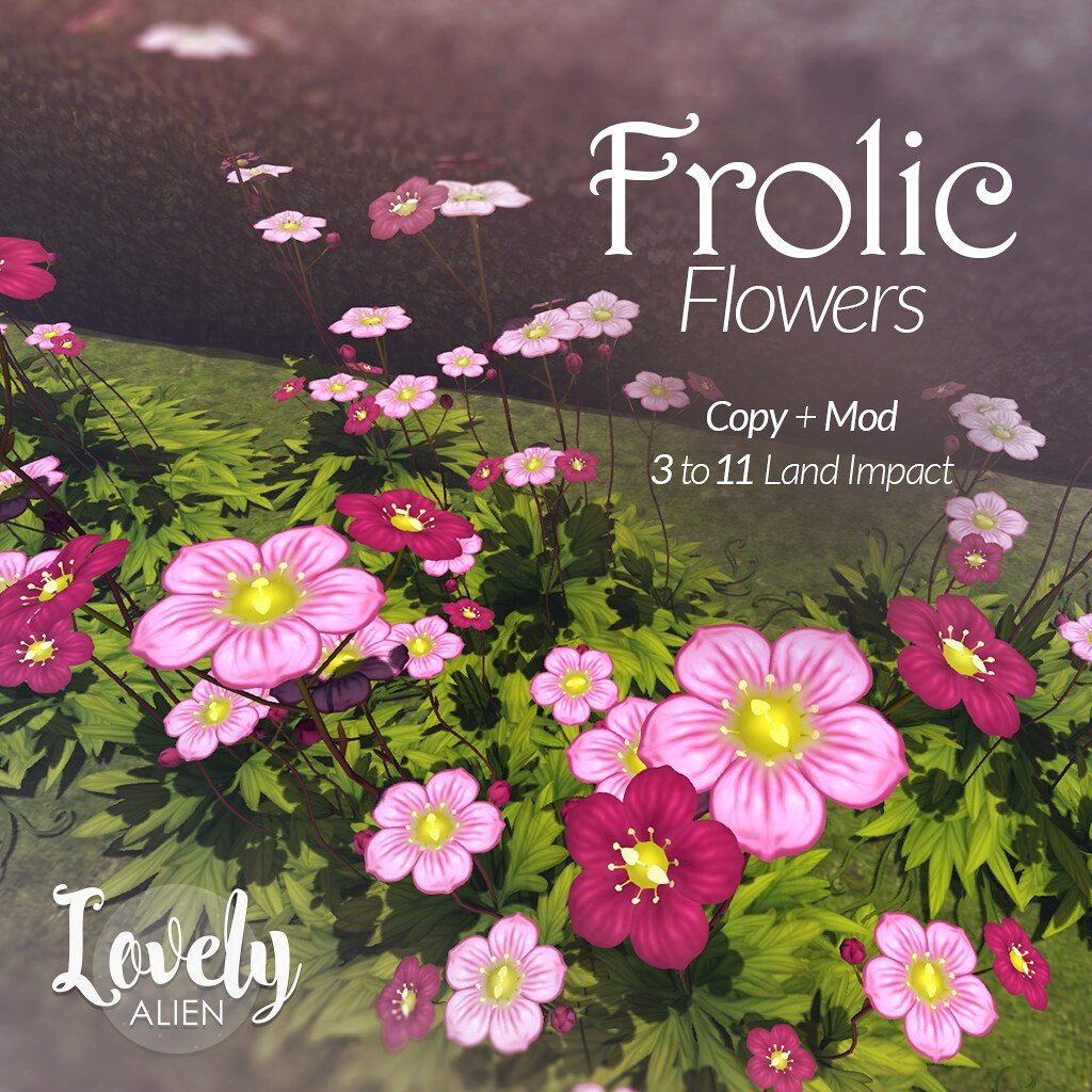 "MadPea Spring Hunt Collaborator – ""Frolic Flowers"" by Lovely Alien!"