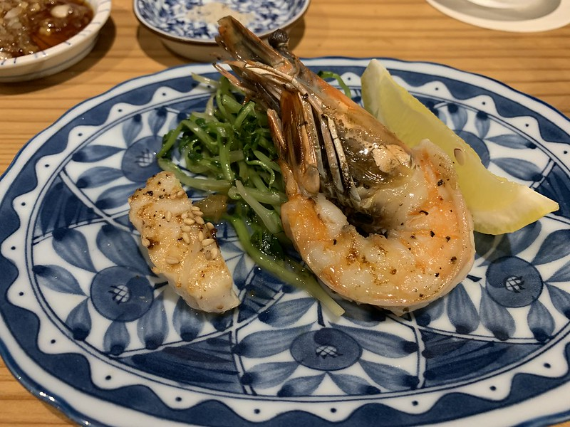 Osaka Kitchen - Grilled Scallop and Shrimp with Butter