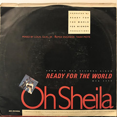READY FOR THE WORLD:OH SHEILA(JACKET B)