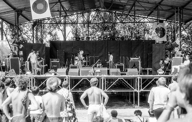 Jarocin Rock Music Festival. 1985