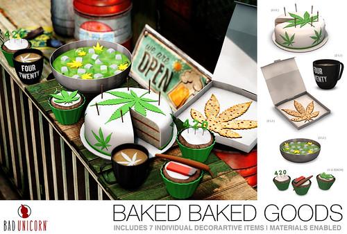 NEW! Baked Baked Goods @ KUSTOM9