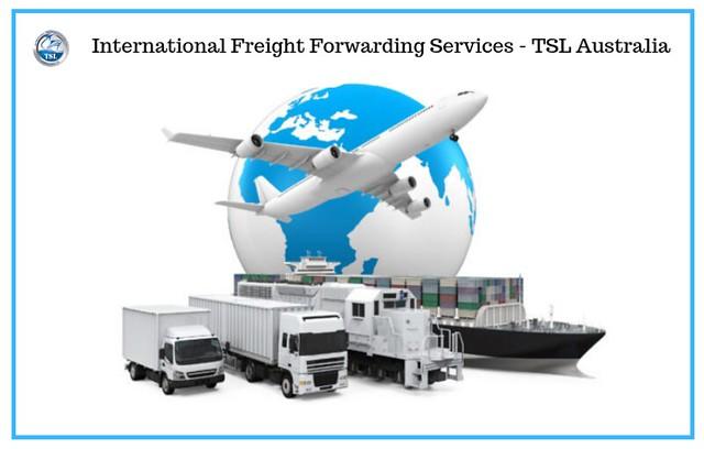 International Freight Forwarding Services - TSL Australia