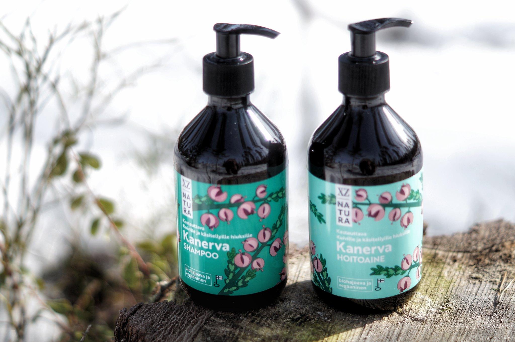 XZ kanerva-shampoo XZ kanerva-hoitoaine