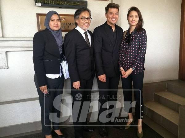 Awal Ashaari & Scha Alyahya Menang Tuntutan Saman RM345,305