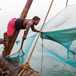 Chinese Fishing Nets, Kerala by Rachel Dunsdon
