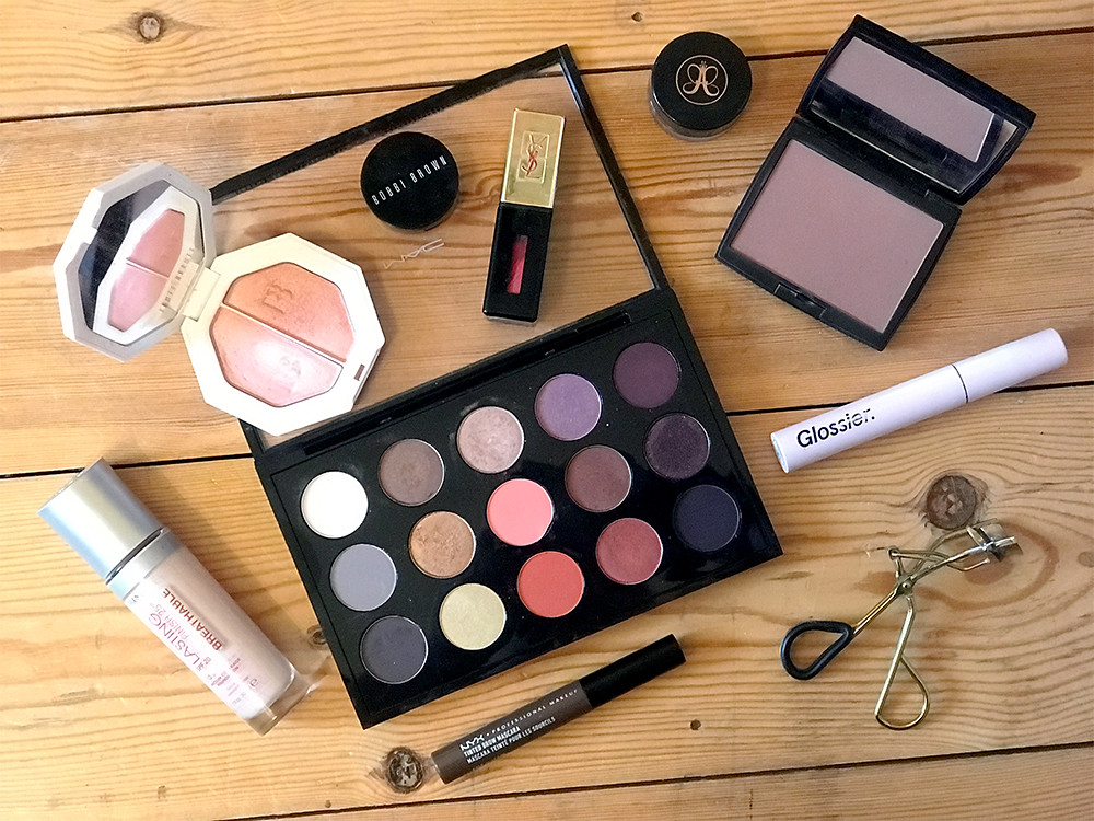 Soft Natural Date Night Makeup Products MAC FENTY NYX